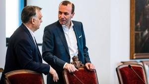 Orbán entzieht Weber die Unterstützung