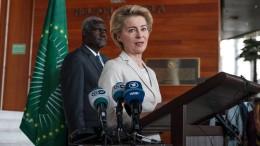 Von der Leyen zu erstem Auslandsbesuch in Äthiopien