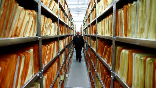 Neue Heimat für Stasi-Unterlagen
