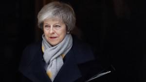Britisches Parlament stimmt deutlich gegen Brexit-Deal