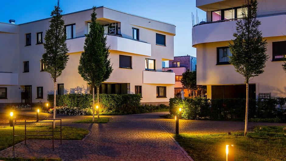 Hohe Mieten, knapper Raum: Von einer Wohnung wie hier am Riedberg können viele Frankfurter nur träumen.