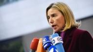 Federica Mogherini, EU-Außenbeauftragte