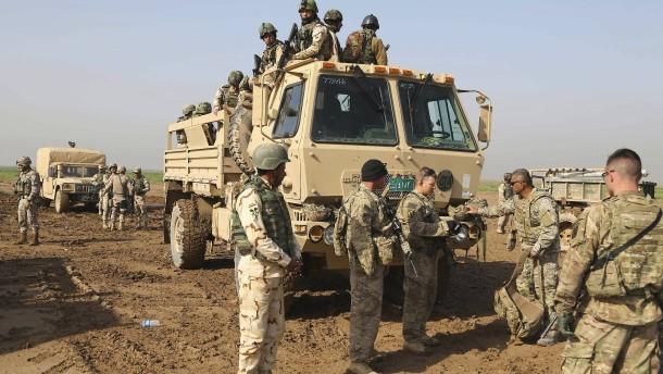 Vereinigte Staaten wollen Truppen im Irak weiter reduzieren