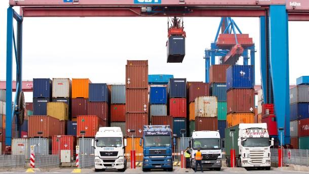 Handelskonflikte schwächen deutsche Konjunktur