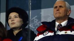 Nordkorea versetzt Mike Pence