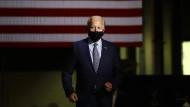 Der amerikanische Präsidentschaftskandidat Joe Biden