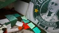Nach Flugzeugabsturz: Trauer um brasilianisches Fußballteam