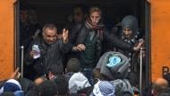 Mehr als 50.000 Flüchtlinge seit Jahresanfang auf Balkanroute unterwegs