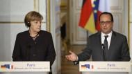 Hollande fordert mehr deutsche Unterstützung