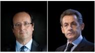 Sie bewegen sich auch auf dem Terrain der Geschichte: die Konkurrenten François Hollande und Nicolas Sarkozy