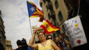 Katalonien ist zerrissen