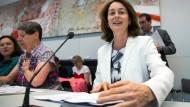 Aufstieg: SPD-Generalsekretärin Katharina Barley am Dienstag in Berlin