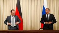 Heiko Maas steht in der SPD wegen seiner kritischen Haltung zu Russland in der Kritik (Archiv).