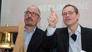 Möglicher Führungsstreit in der Berliner SPD