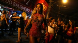 Erster Transgender-Samba-Star in Rio