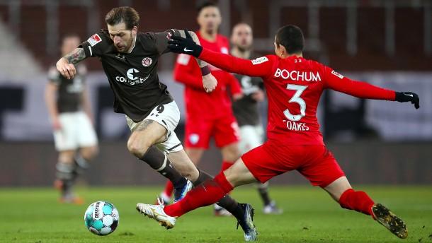 Sieg für VfL Bochum nach doppeltem Rückstand bei St. Pauli