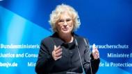 Christine Lambrecht bei der Amtsübergabe am 27. Juni 2019.