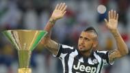 FC Bayern mit Vidal einig