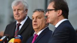 Orbán zu Gast bei der CSU