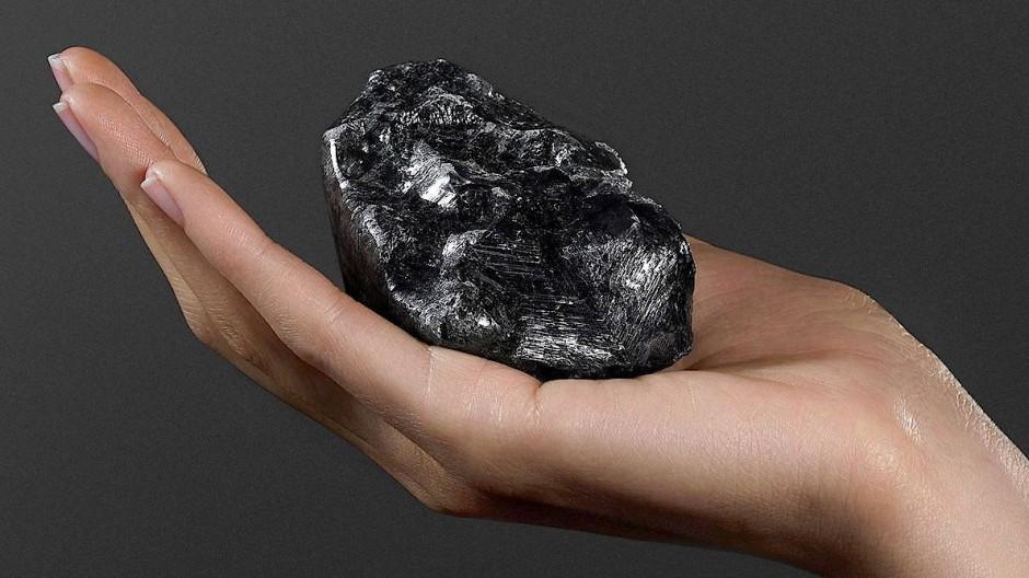 Zweitgrößter Rohdiamant der Welt