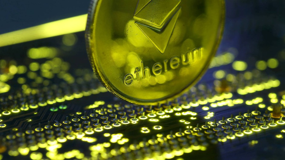 Das Symbol für Ethereum