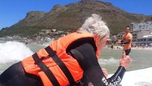 Surfspaß trotz Handicaps