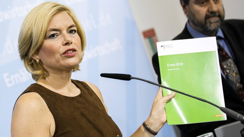 Bundeslandwirtschaftsministerin Klöckner plant ein umfassendes Programm zur Wiederaufforstung der deutschen Wälder.
