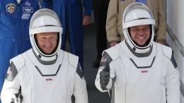 Astronauten sind erfolgreich an der ISS angekommen