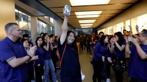 Großes Interesse am iPhone X in China