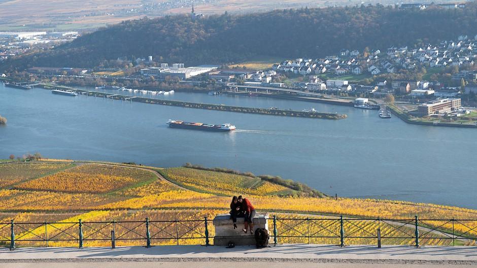 Verbindend: Zum Beispiel bei Rüdesheim sollte es nach Meinung des Rheingau-Taunus-Kreises eine Brücke über den Rhein geben.