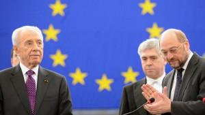 Peres will Intervention der Arabischen Liga in Syrien
