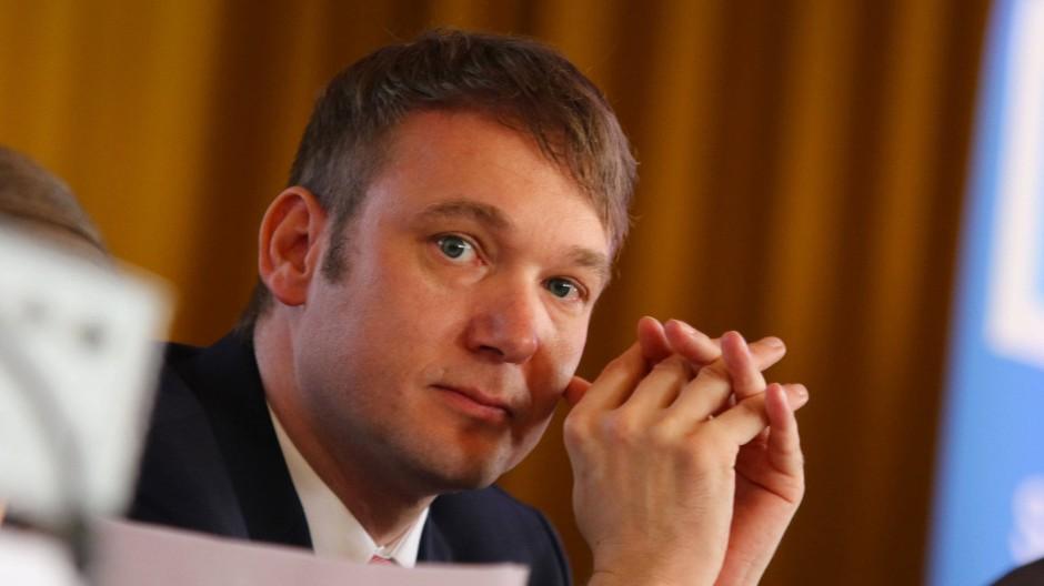 Findet die Chat-Äußerungen nicht anstößig: André Poggenburg, Parteivorsitzender der AfD in Sachsen-Anhalt