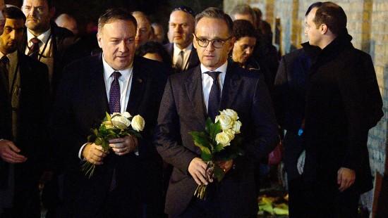 Maas und Pompeo gedenken der Anschlagsopfer