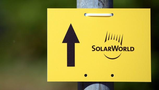Solarworld nimmt erste Hürde zur Sanierung