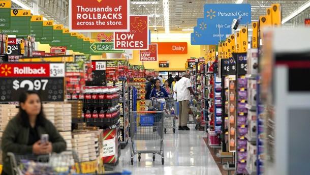 Amerikas Verbraucher werden pessimistischer
