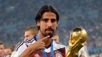 Sami Khedira: er war schon Kapitän der deutschen U 21, die 2009 Europameister wurde
