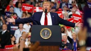 Trump will die Wiederwahl