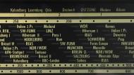 Ein altes Nordmende-Radio.