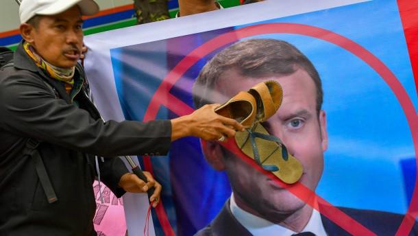 """Macron: Frankreich kämpft nicht gegen """"den Islam"""""""