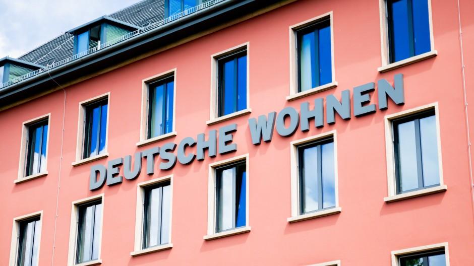 Die Zentrale der Wohnungsgesellschaft Deutsche Wohnen in Berlin