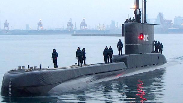 Vermisstes U-Boot in Indonesien ist gesunken