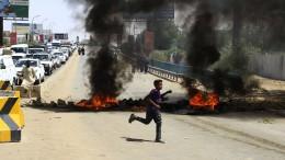 Ausschreitungen in Sudans Hauptstadt Khartum