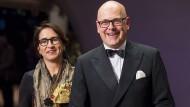 Neues Glück: Torsten Albig (SPD) und Strategie-Beraterin Bärbel Boy