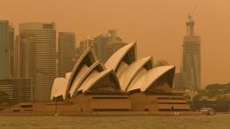 Sydney von Buschfeuern bedroht