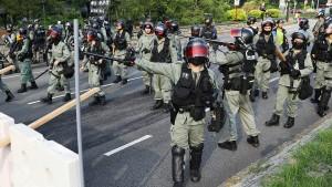 Externe Kräfte für die Polizei in Hongkong?