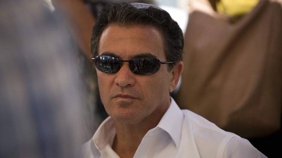 Yossi Cohen am 3. Juli 2016 in Jerusalem