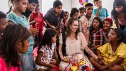 Schauspielerin rührt Frau in Venezuela zu Tränen