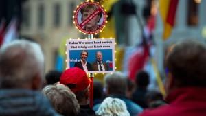 """""""Pegida"""" feiert AfD-Wahlerfolg"""