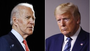 Stummschalttaste für Trump und Biden bei TV-Duell