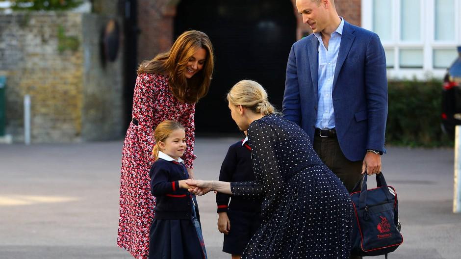 Großer Tag für kleine Prinzessin
